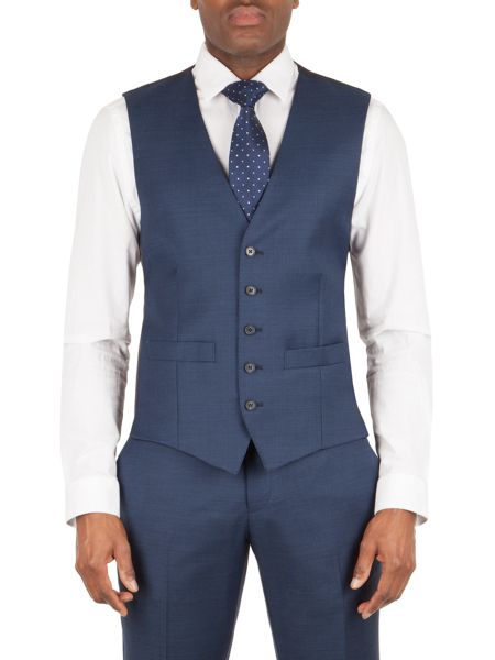 Aston & Gunn Oxenhope tailored vest