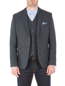 Racing Green Powell Herringbone Blazer