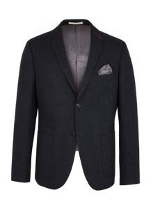 Racing Green Hugh Semi Plain Blazer