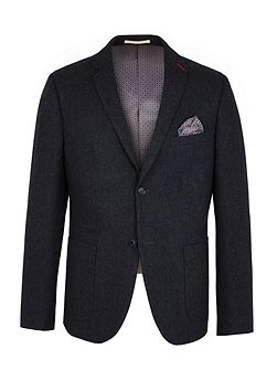 Hugh Semi Plain Blazer