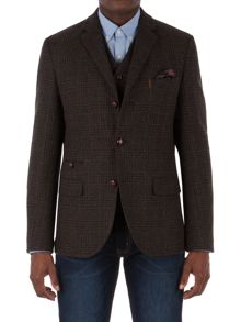 Racing Green Crawford Pow Check Blazer