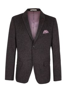 Racing Green Hamilton Semi Plain Blazer