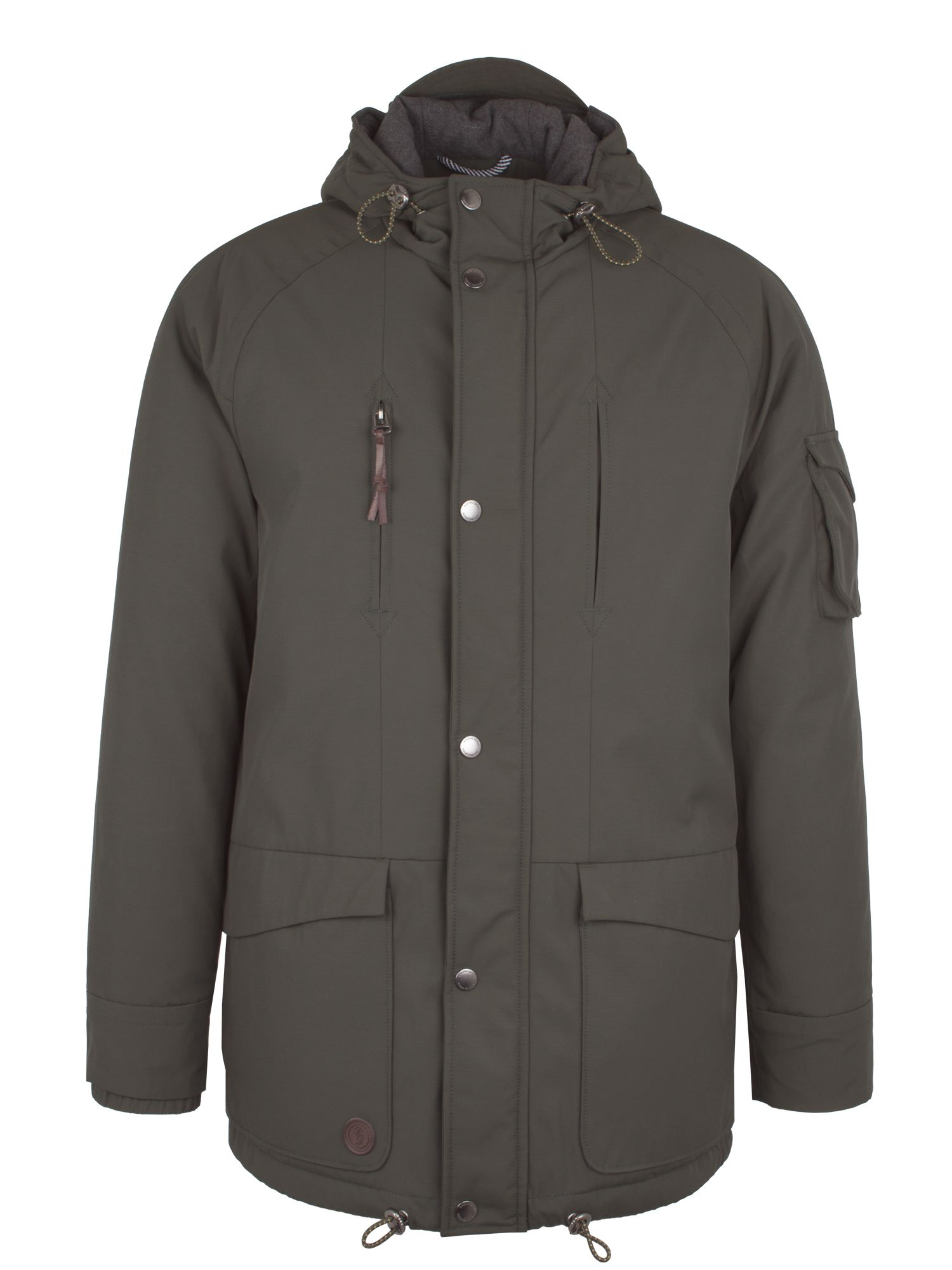 Mens Racing Green Benson Parka Dark Green