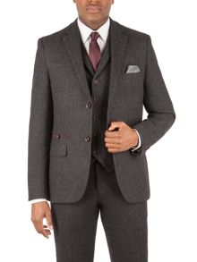 Racing Green Berry Herringbone Blazer