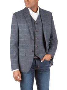 Racing Green Martin Check Blazer