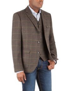 Racing Green Conroy Check Blazer