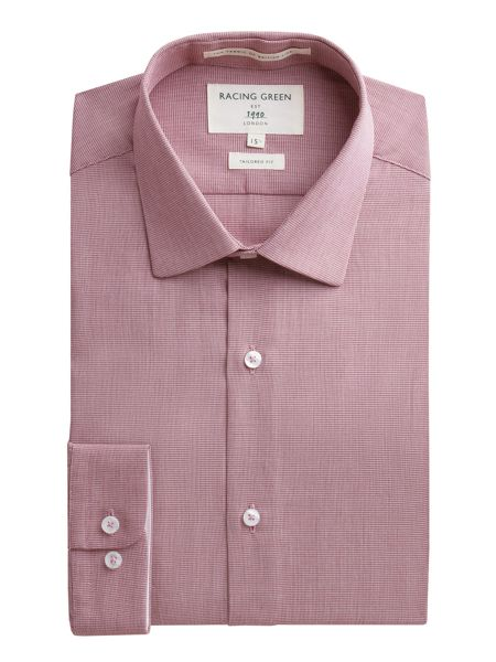 Racing Green Benno Puppytooth Formal Shirt