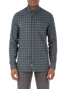 Racing Green Gerry Brushed Check Shirt