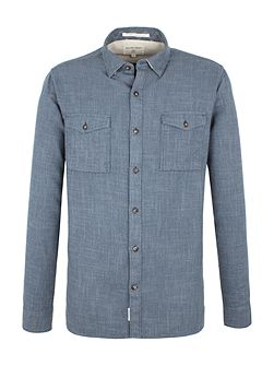 Beck Semi Plain Long Sleeve Shirt