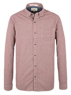 Pope Mini Check Long Sleeve Shirt