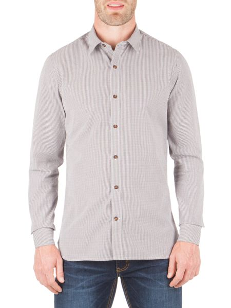 Racing Green Milnes Multi Check Long Sleeve Shirt