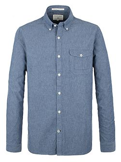 Society Chambray Long Sleeve Shirt