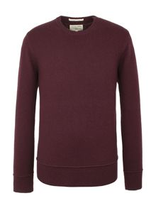 Racing Green Watt Crew neck Knit