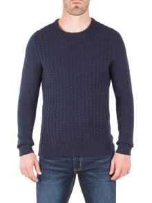 Racing Green Harbour Crew Neck Knit