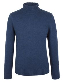 Racing Green Scott Lambswool Polo Neck Knit