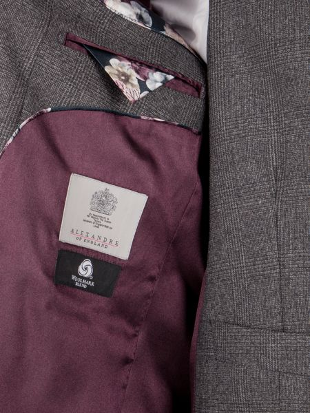 Alexandre of England Arbour Jaspe Check Jacket