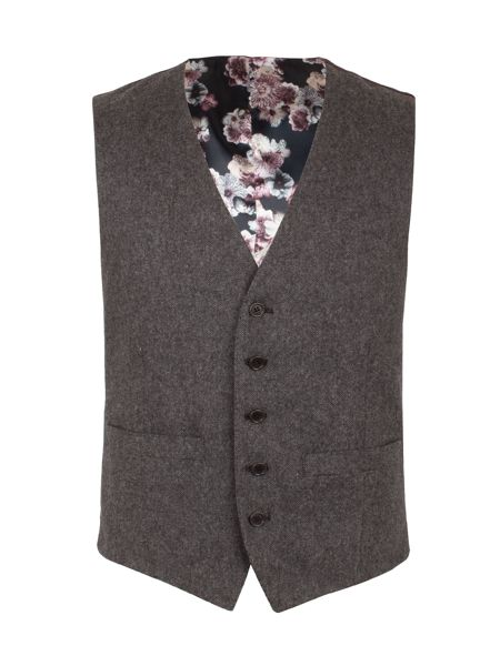 Alexandre of England Westcroft Donegal Waistcoat