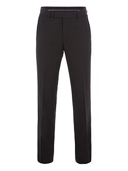 Philip Black Twill Performance Trousers