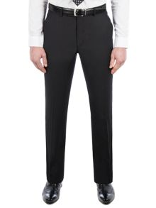 Pierre Cardin Philip Black Twill Performance Trousers