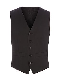 Philip Black Twill Performance Vest