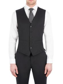 Pierre Cardin Philip Black Twill Performance Vest