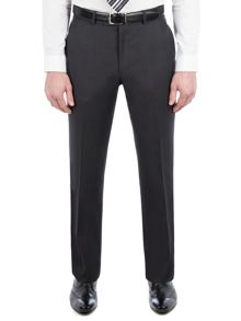 Pierre Cardin Jack Charcoal Twill Performance Trousers