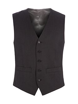 Jack Charcoal Twill Performance Vest