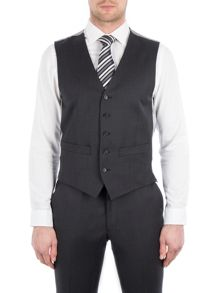 Pierre Cardin Jack Charcoal Twill Performance Vest