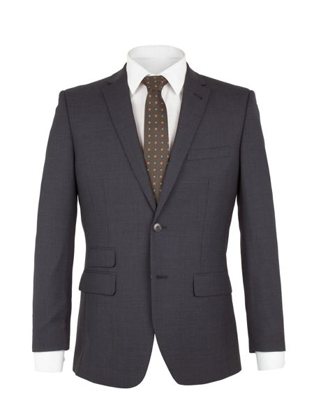 Racing Green Mason Micro Check Jacket