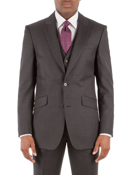 Pierre Cardin Charcoal Check Jacket