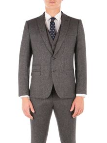 Ben Sherman Smoked Pearl British Tweed Camden Jacket