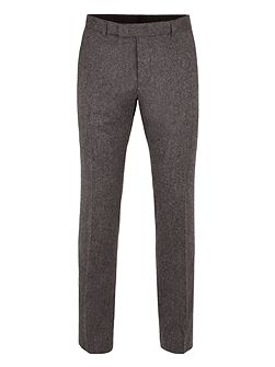 Smoked Pearl British Tweed Camden trouser