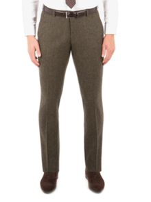 Ben Sherman Rifle Green British Tweed Camden Trouser
