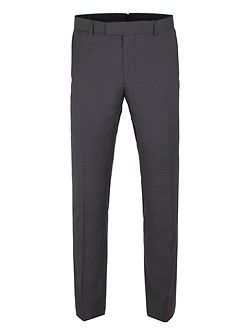 Peacoat Structure Check Trousers