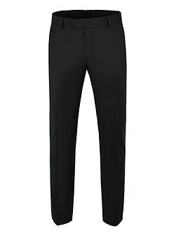 Jet Black Twill Camden Trouser