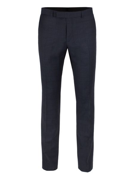 Ben Sherman Navy Check Flannel Camden Trousers