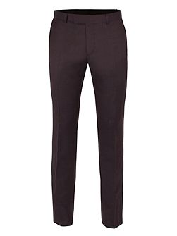 Oxblood Pick And Pick Camden Trousers