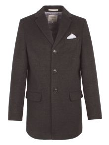 Racing Green Stag Check Coat