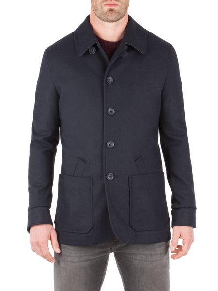 Racing Green Hurst Short Coat