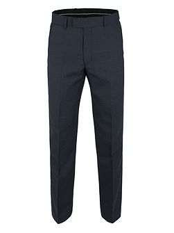 Blue Pow Check Trouser