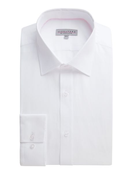 Alexandre of England White Micro Shirt