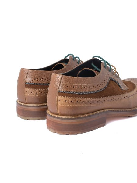 Racing Green Ministry Cognac Casual Brogue