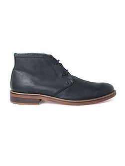 Hyde Black Casual Chukka