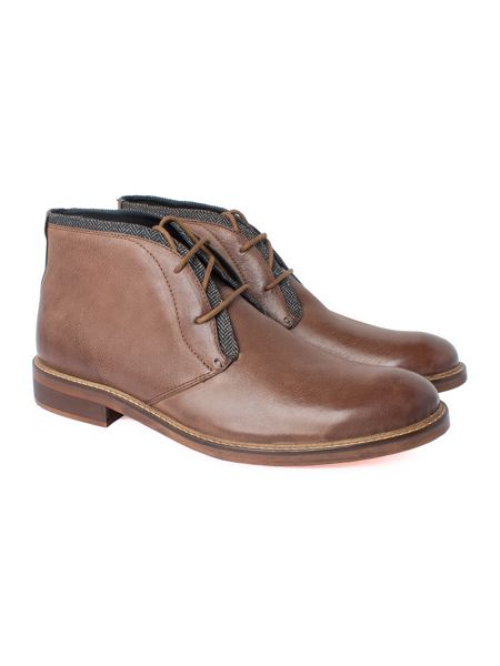Racing Green Hyde Chocolate Casual Chukka