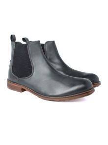 Racing Green Sinatra Black Chelsea Boot