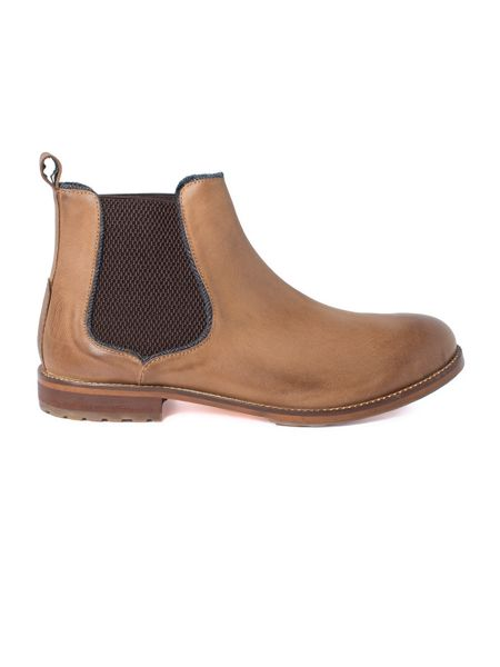 Racing Green Sinatra Brown Chelsea Boot