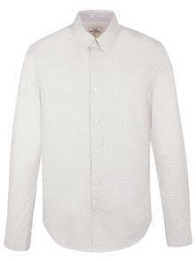 Ben Sherman Long Sleeve Optic Chequerboard Shirt