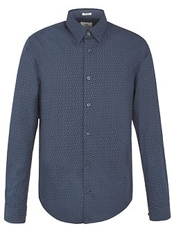 Long Sleeve Optic Chequerboard Shirt