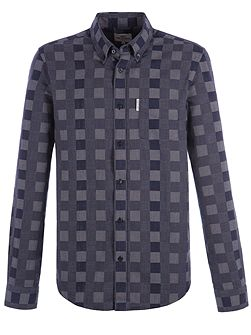 Long Sleeve Chequerboard Shirt