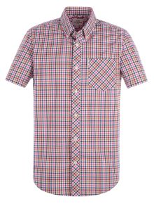 Ben Sherman Short Sleeve Mod Check Summer